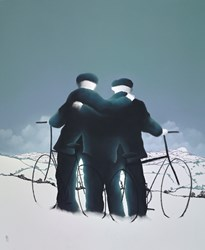 All For One by Mackenzie Thorpe - Original Drawing, Paper on Board sized 30x36 inches. Available from Whitewall Galleries